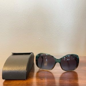 Prada Women's Marble Sunglasses SPR 03M